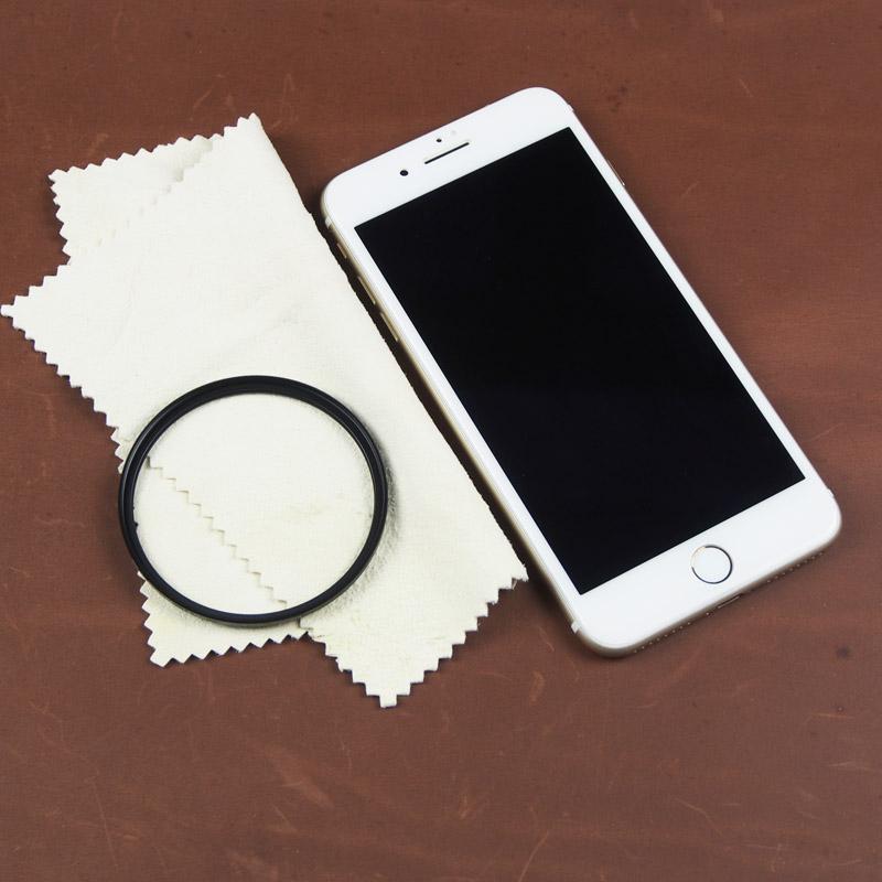BEAGLE 天然麂皮拭淨布  適用:手機/相機/鏡頭/濾鏡/眼鏡/珠寶/光學儀器…等  15*15公分
