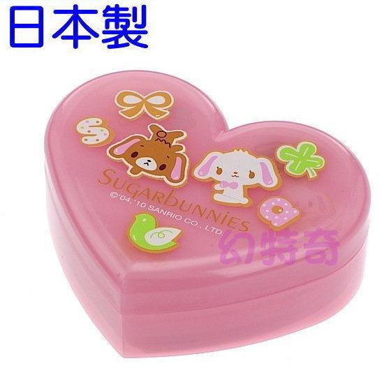 日本製焦糖兔甜點兔蜜糖邦妮小花愛心便條紙附愛心收納盒654620玩之內