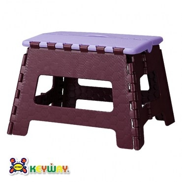 KEYWAY休閒摺合椅紫色款PP-0115 34x27.2x22.9cm