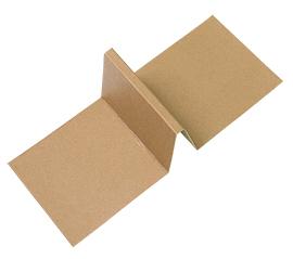 《荷包袋》8吋乳酪蛋糕盒-內襯兩格隔板-牛皮 10入/包