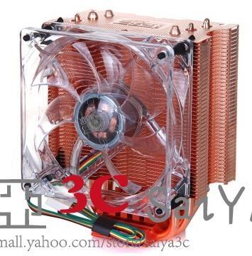 cpu散熱器散熱片風扇CPU風扇智能溫控