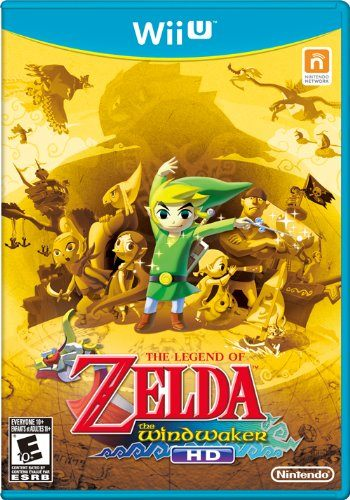 WiiU The Legend of Zelda:The Wind Waker HD薩爾達傳說:風之律動HD美版代購