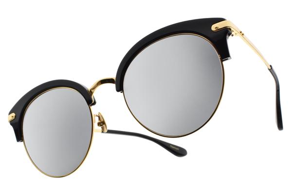 NINE ACCORD 水銀太陽眼鏡 CARDINAL-CO C02 (珍珠黑-金) 韓系眉框款 白水銀款 # 金橘眼鏡