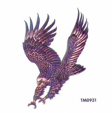 薇嘉雅凶猛的老鷹超炫圖案紋身貼紙TM0931