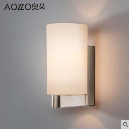 奧朵燈飾壁燈主臥室床頭燈現代間約過道玄關燈牆壁燈具20014JR