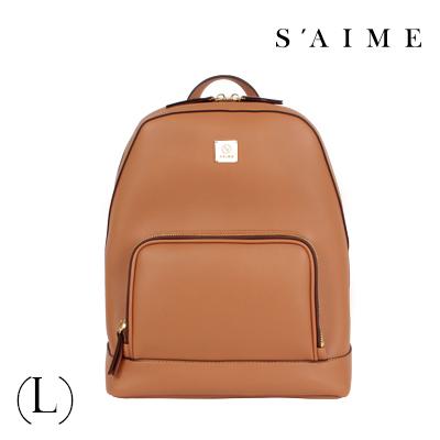 S aime東京企劃【SBG28-A012L】Gill吉兒 方塊中性多功能後背包(L) 肩背 手提 多用 咖啡