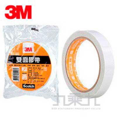 3M雙面膠帶6MM*15Y單捲包668