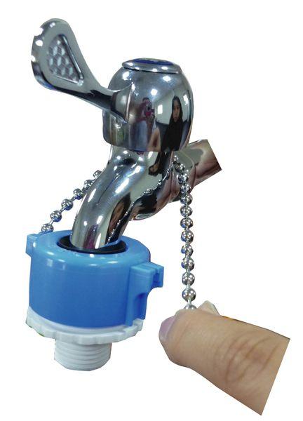 水栓用四分牙珠鍊接頭