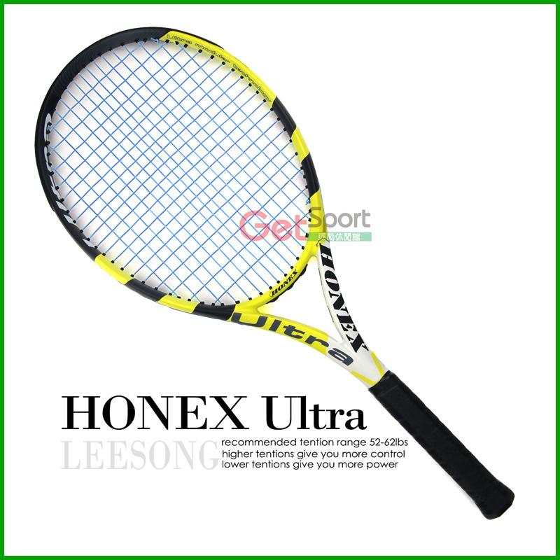 台灣Leesong網球拍-HONEX Ultra(選手拍)(含空拍、網球袋、網球線、免費穿線服務)