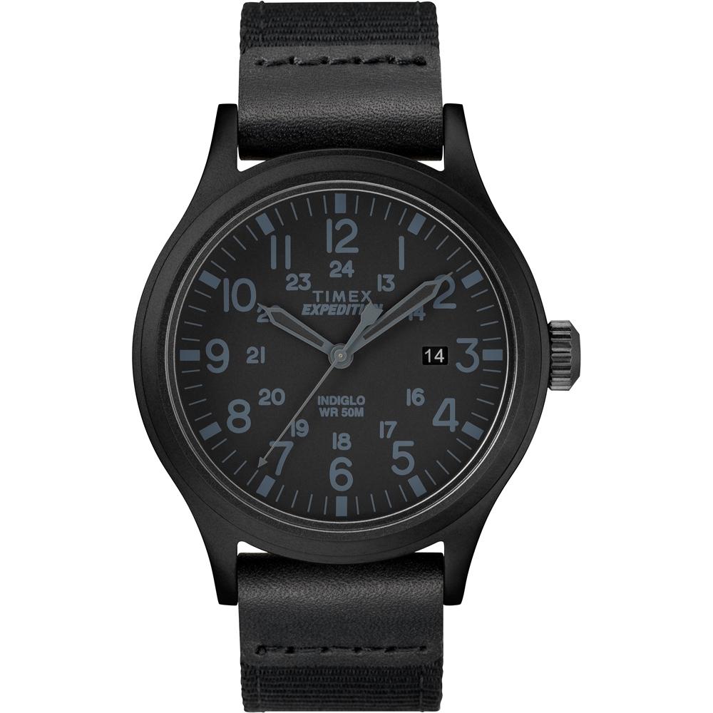 【TIMEX】 天美時 遠征系列 探險手錶 (黑 TXTW4B14200)