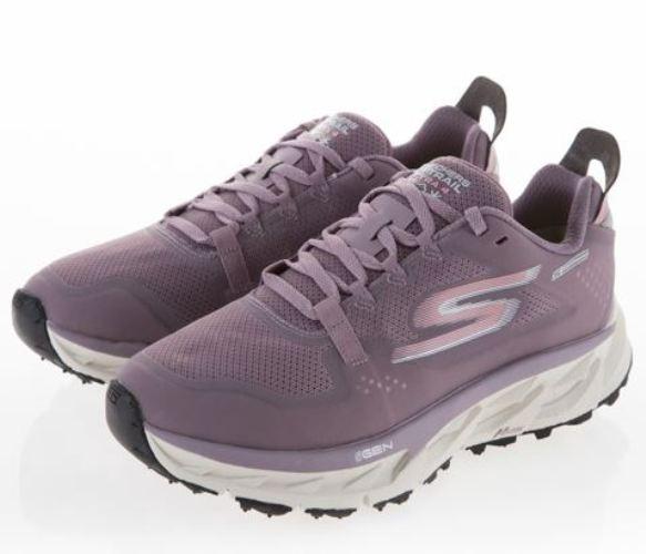 SKECHERS GO TRAIL ULTRA 4 女款運動慢跑鞋 紫-NO.15246MVE