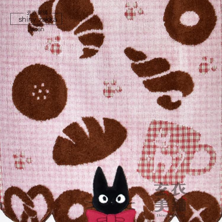 日本毛巾-宮崎駿 魔女宅急便大方巾-黑貓KiKi麵包坊-玄衣美舖