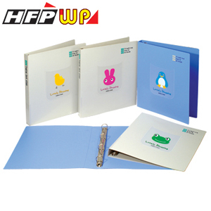 清倉3折10個量販HFPWP卡通三孔夾TC243-10台灣製環保材質TC243-10