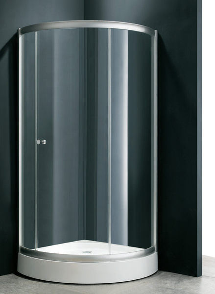 麗室衛浴B-028圓弧型三片橫開拉門90*90*185CM含專用門檻