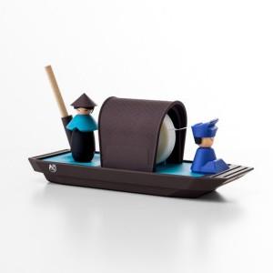 iThinking舢舨船文具組-藍