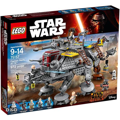 樂高積木LEGO LT75157 STAR WARS星際大戰系列Captain Rex s AT-TE JOYBUS玩具百貨