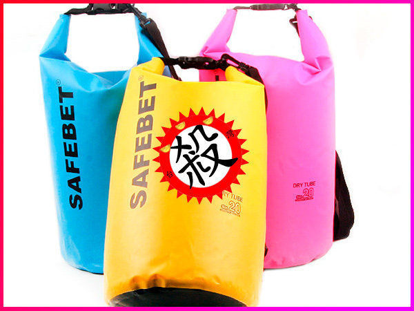 【Love Shop】SAFEBET防水收納袋衝浪 溯溪 獨木舟 海邊 雨天救難必備5L.10L.20L(此賣場為5L)