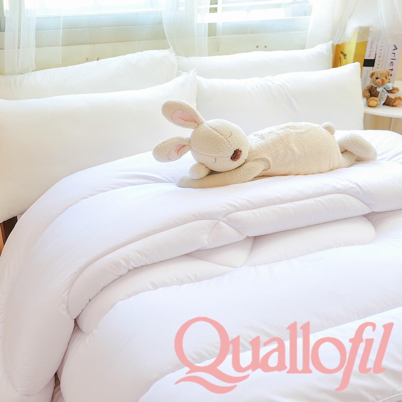 名流寢飾家居館英威達Quallofil杜邦七孔被蓬鬆柔軟雙人尺寸全程臺灣製造