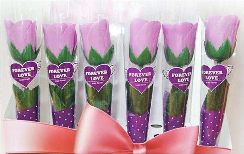 娃娃屋樂園~單支-精油香皂玫瑰花 每支15元/婚禮小物/二次進場禮物/禮品