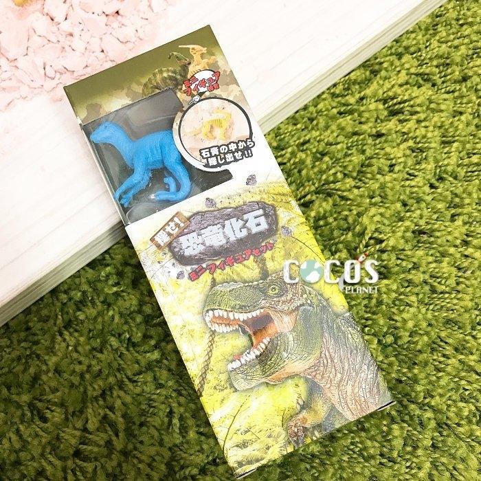 日本正版 恐龍化石 恐龍化石挖掘 恐龍化石考古挖掘玩具 恐龍公仔擺飾 F款 COCOS DK069