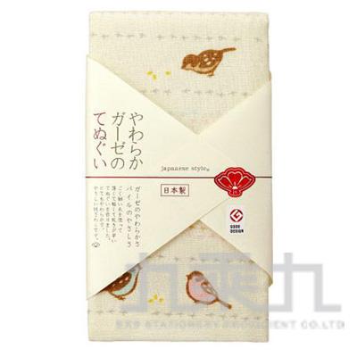 【九乘九購物網】日本原裝進口 日纖 js 新春毛巾-麻雀 JS-565 161138