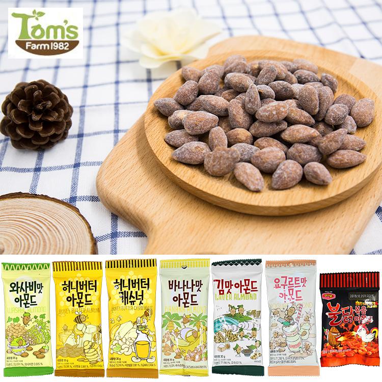 韓國Gilim蜂蜜奶油芥末香蕉杏仁果35g庫奇小舖