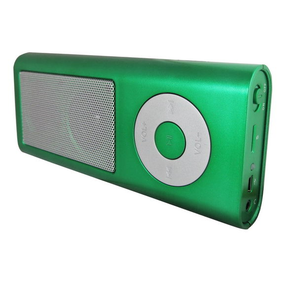 K13插卡式MP3音響喇叭(加贈充電器)
