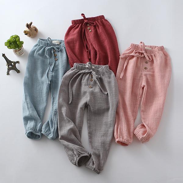嬰幼兒長褲 嬰兒褲子  寶寶燈籠褲 棉紗褲  防蚊褲 童裝 XR101 好娃娃