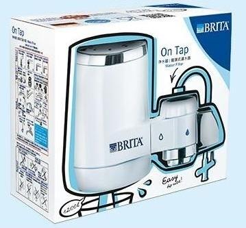 24期0利率德國BRITA On Tap龍頭式淨水器四階段過濾法:前段過濾吸附清潔機械過濾