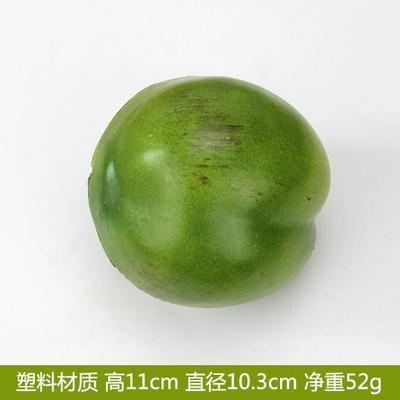 高仿真椰果塑料假椰子果假水果蔬菜模型攝影視櫥窗擺設早教道玩具塑料大椰果預購CH3206