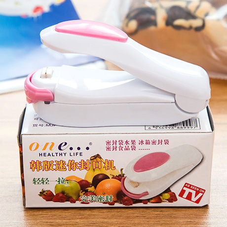 ZUCAS~零食塑膠袋封口機 手壓熱封封袋機 封口機 小型封口機 (GG-204)