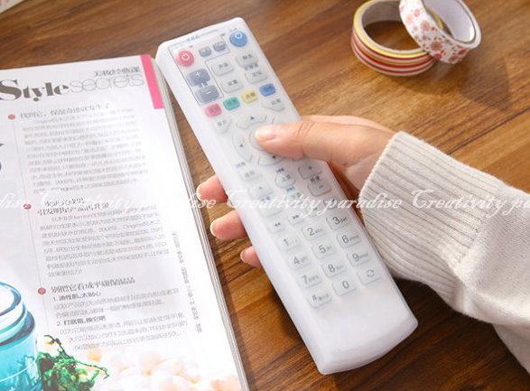 【電視遙控器套】透明矽膠電視機遙控器 保護套 矽膠套