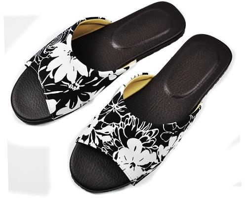 自然生活舒適皮室內拖鞋黑色27CM室內拖室內拖鞋拖鞋止滑拖鞋防滑拖鞋mocodo魔法豆