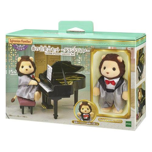 森林家族TOWN鋼琴演奏獅子EP29130扮家家酒