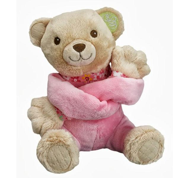 法國Pioupiou Merveilles長臂熊Catch me安撫娃娃粉紅.藍