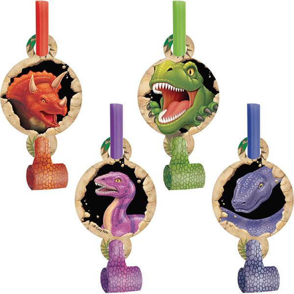 派對吹笛8入-恐龍世界