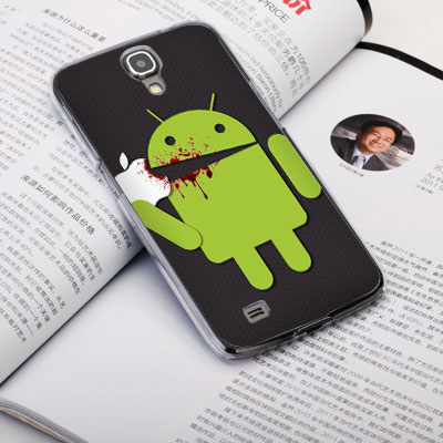 機殼喵喵三星Samsung i9500 Galaxy S4手機殼客製化照片外殼全彩工藝SZ059