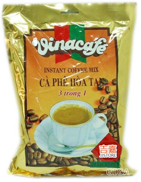 吉嘉食品越南VINA威拿三合一即溶咖啡每包20g*20小包93元8934683002599 1