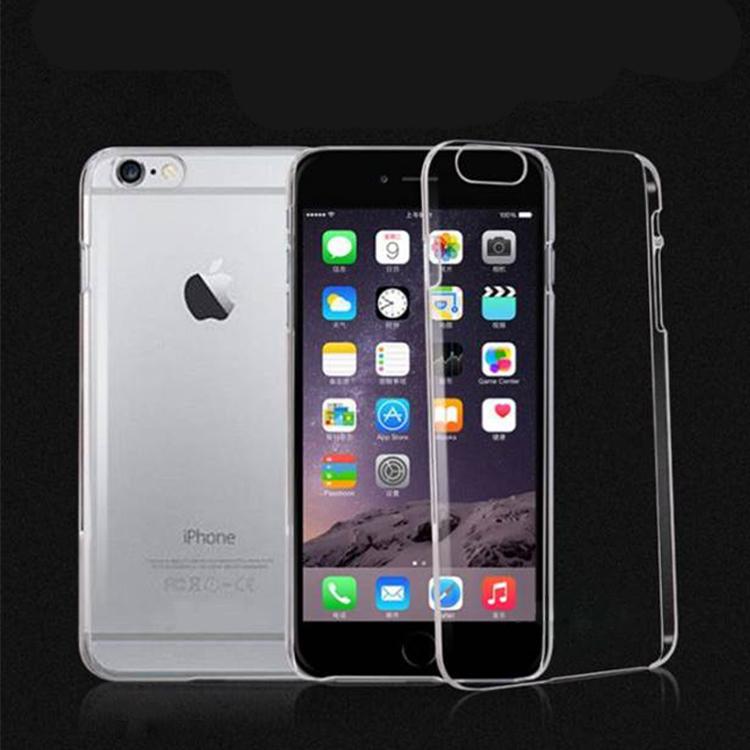 Apple蘋果iPhone 6 6s 5.5吋超薄PC手機殼保護套高硬度防撞全包覆高透光裸機效果全新品出清中