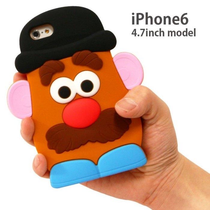 尼德斯Nydus*日本正版玩具總動員蛋頭先生手機殼保護殼矽膠軟殼4.7吋iPhone 6