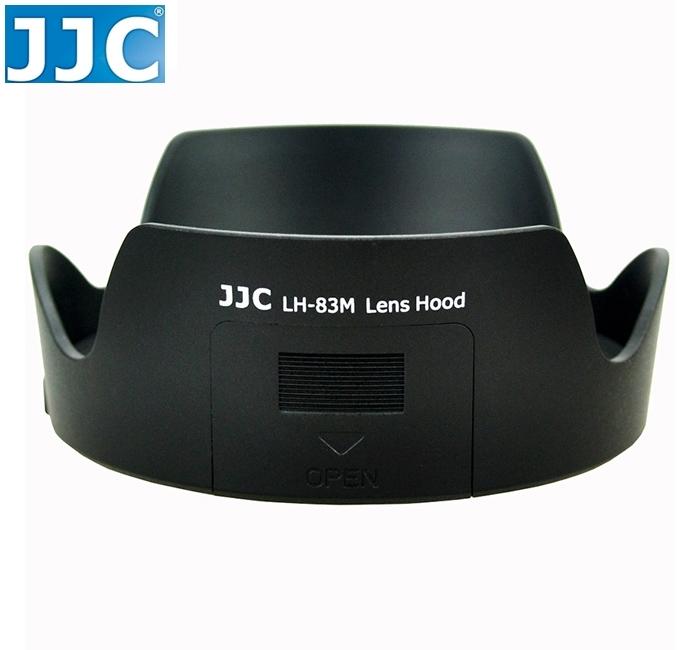 又敗家JJC副廠Canon遮光罩EW-83M遮光罩24-105mm F3.5-5.6 IS STM相容Canon原廠遮光罩EW-83M太陽罩遮罩hood