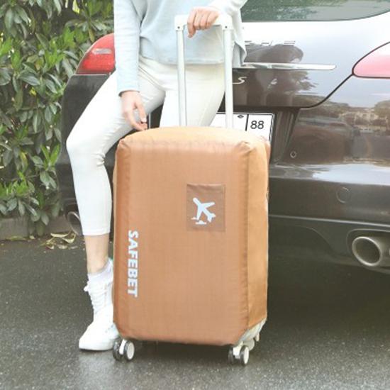 MY COLOR防水素面行李套S號彈力保護套加厚耐磨保護罩牛津布行李箱防塵N366
