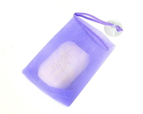香皂起泡袋 (雙層彈性網, 附吸盤)