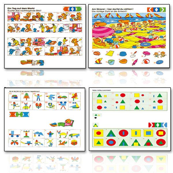 德國LUK腦力開發VC加VD.贈送1個遊戲操作板和隨機兩盒德國PEWACO益智遊戲