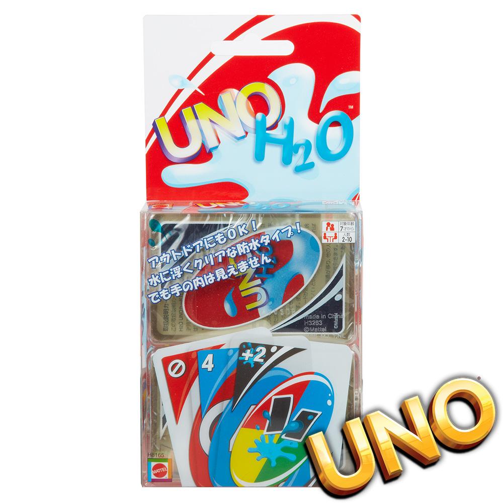 UNO 遊戲卡 H2O 帶著走 (日文版) 美泰兒正貨