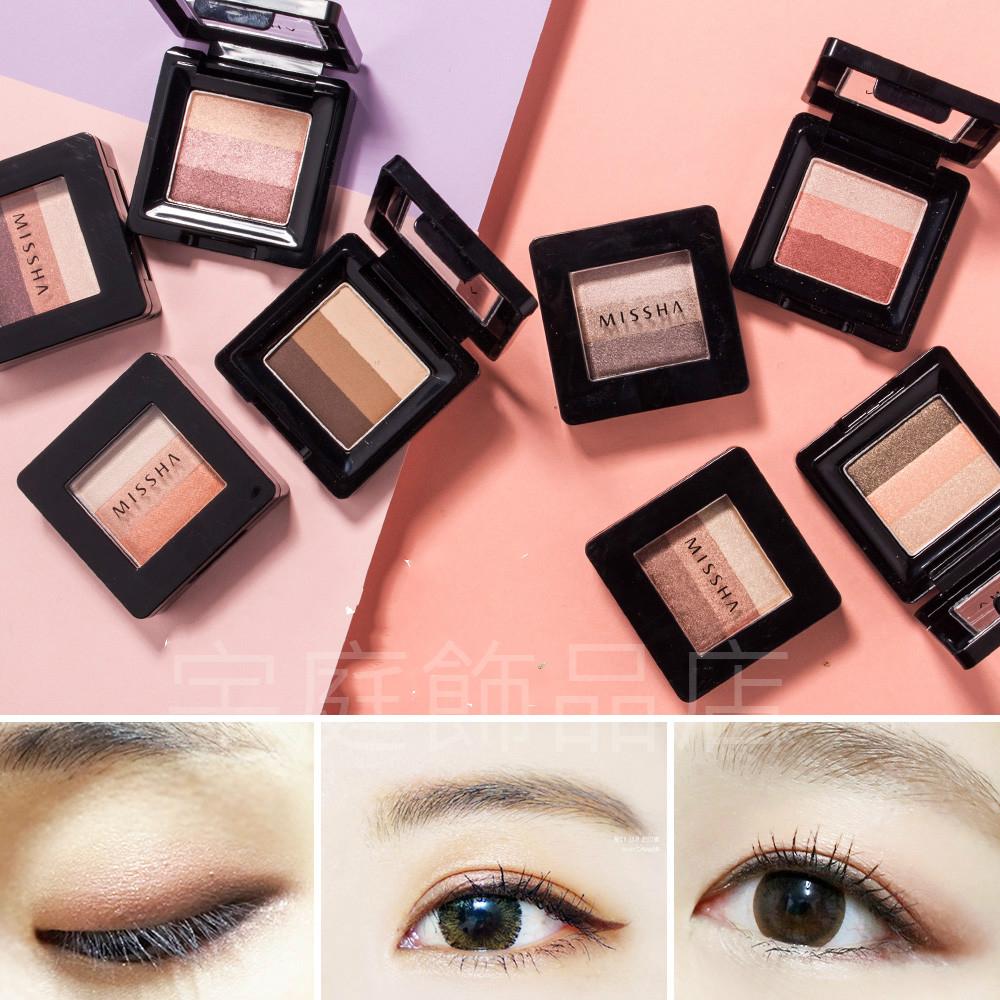 韓國MISSHA~三色眼影2g多色可選現貨供應宇庭飾品店