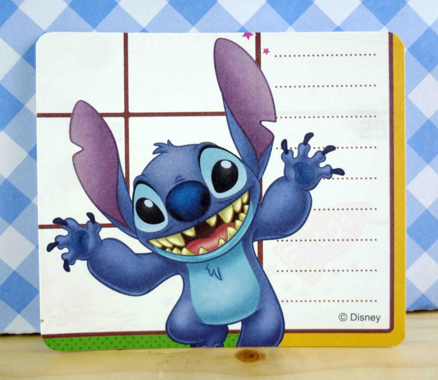 震撼精品百貨Stitch星際寶貝史迪奇~卡片-SAY HI
