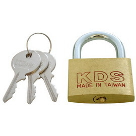 [雙手萬能]KDS銅掛鎖#120(40mm)