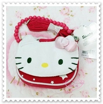 小花花日本精品Hello Kitty手機袋手機包萬用手機包兩用包可掛可背88811703