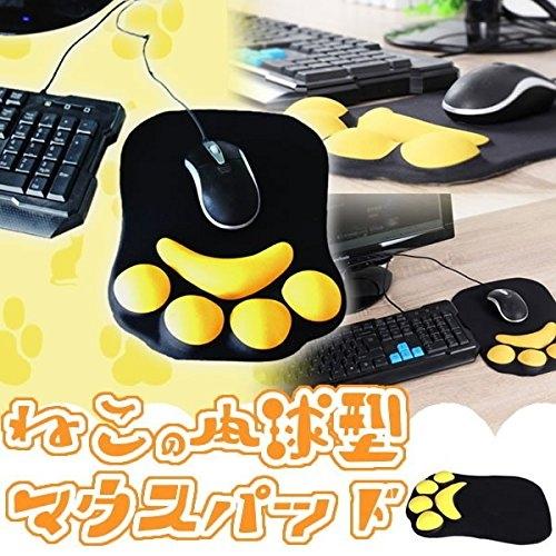 小福部屋日本空運動物貓咪貓肉球滑鼠墊鼠墊新品上架